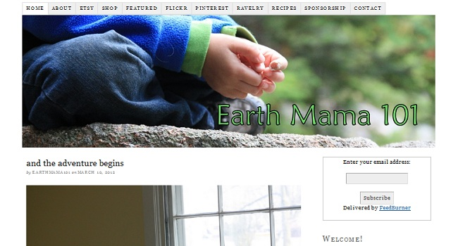 Earthmama 101 Blog Migration