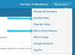 How to get a Gravatar | theblogmaven.com