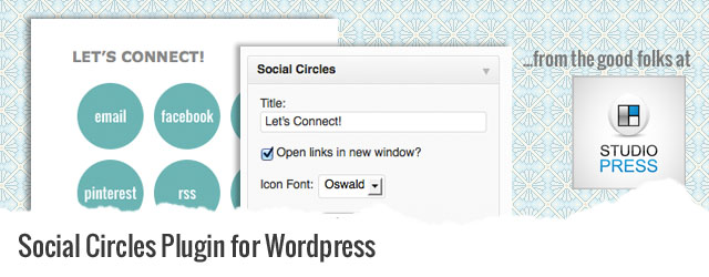 how to add social media links to wordpress