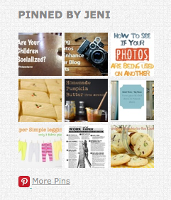 Preview of Jeni's pin boards | theblogmaven.com