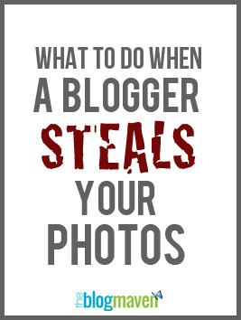 What to do when a blogger steals your photos | a Resource from The Blog Maven