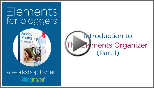 Introduction to the Photoshop Elements Organizer by The Blog Maven
