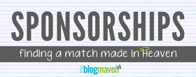 Finding a Good Sponsorship Match for Your Blog