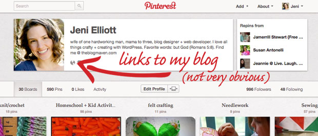 How to Verify Your Blog with Pinterest | theblogmaven.com