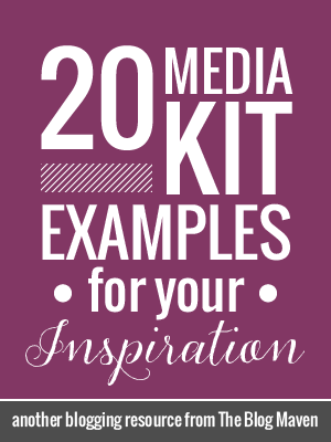 20 Example Blog Media Press Kits For Your Inspiration Blog