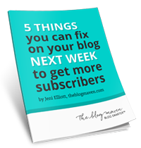 Get More Blog Subscribers - free guide