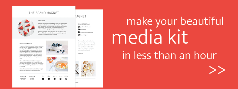 How to Make a Media Kit that ROCKS – Press Kit Template